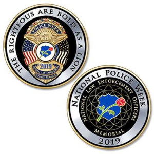 2019 National Police Week Coin